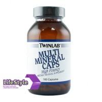 Витамины Twinlab Multi Miners Caps 180 капс