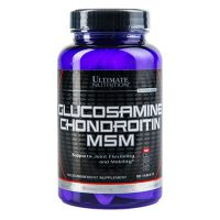 Ultimate Nutrition Glucosamine & Chondroitin & MSM 90 табл