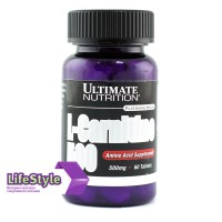 Ultimate Nutrition L-Carnitine 60 табл 500 мг