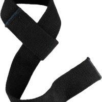 Лямки для тяги с мягкими вставками, черные (Scelta)