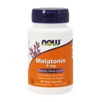 NOW Melatonin 5 мг 60 вегетарианских капс
