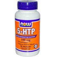 Now Foods 5-HTP 100 мг 60 вегетарианских капс